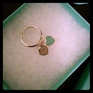 Tiffany and co heart ring